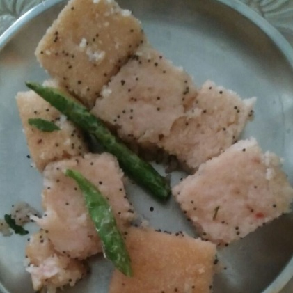 Photo of Strawberry Dhokla by Dr Sonal Daga at BetterButter