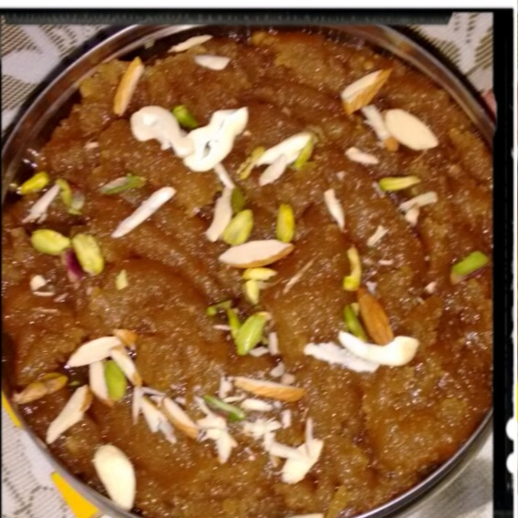 Photo of Wheat flour Halwa by Durgesh Srivastava at BetterButter