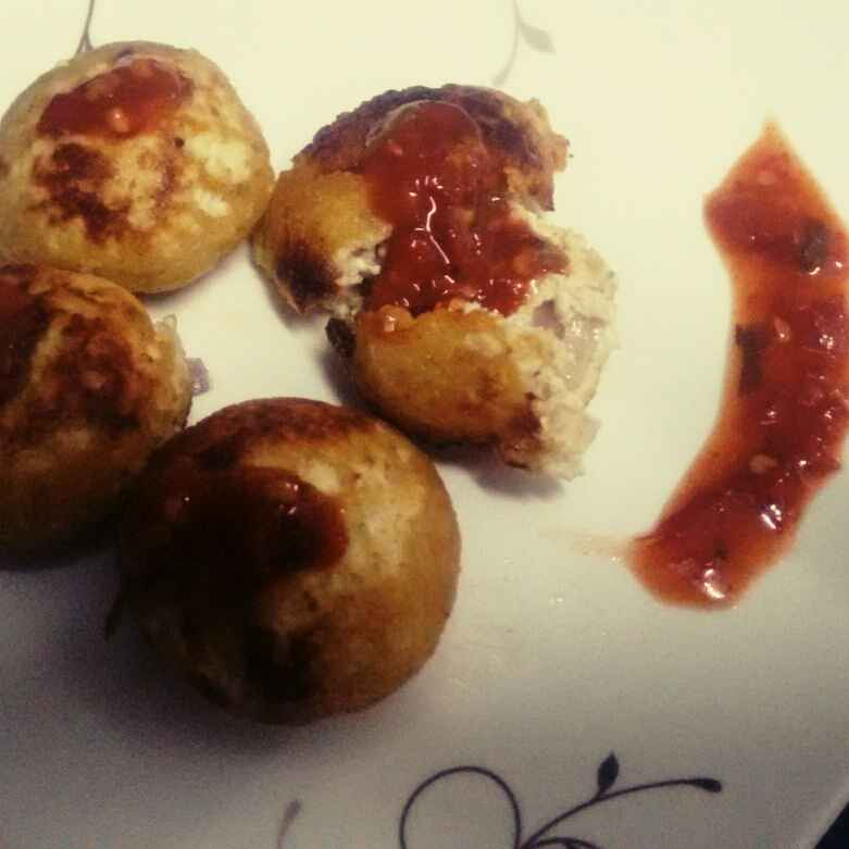 Photo of Paneer appe by Durgesh Srivastava at BetterButter