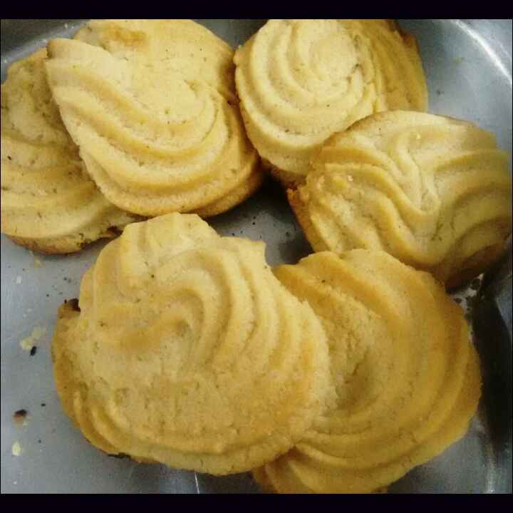 Photo of Piped cookies  by Durgesh Srivastava at BetterButter