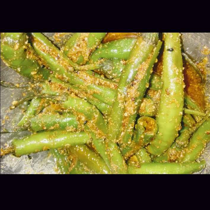 Photo of Green Chilies Pickle by Durgesh Srivastava at BetterButter
