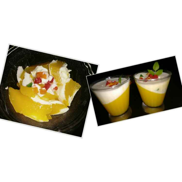 Photo of Mango Pannacotta by Durgesh Srivastava at BetterButter