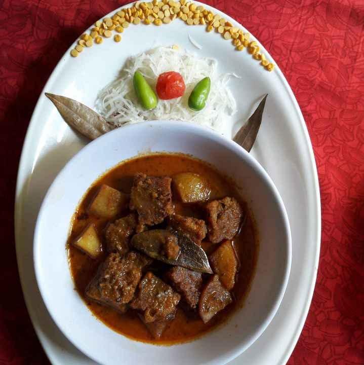 How to make Peper dhoka
