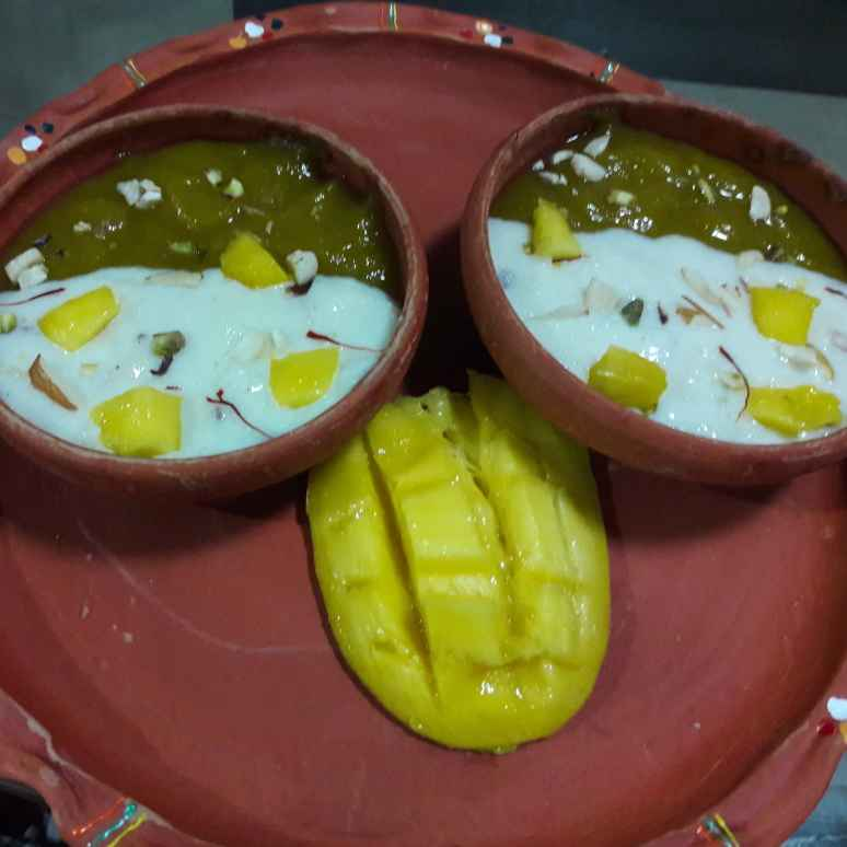 Photo of Mango firni by Dustu Biswas at BetterButter