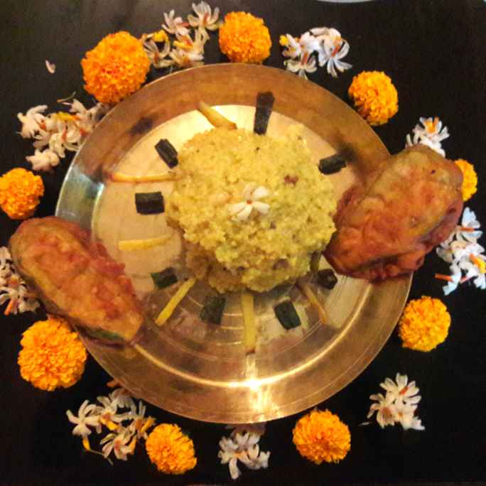 How to make Voger khichuri