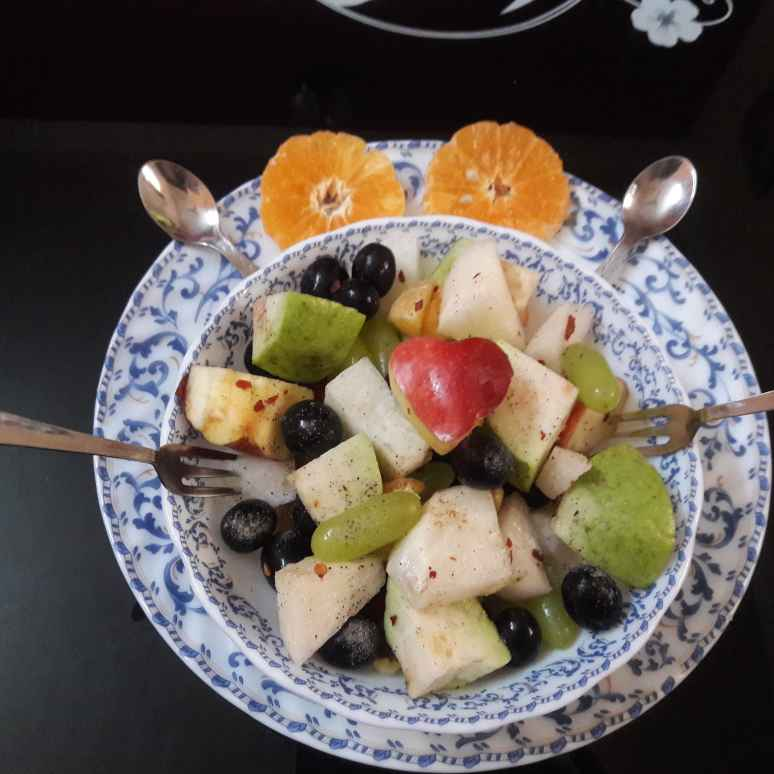 Photo of Fruit chat by Dustu Biswas at BetterButter
