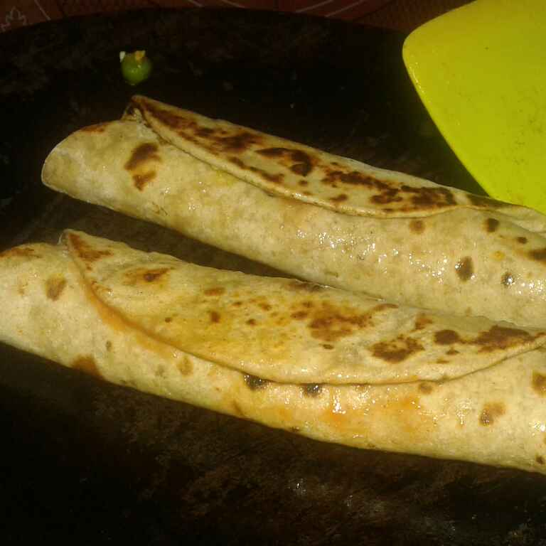 How to make Healthy kathi roll