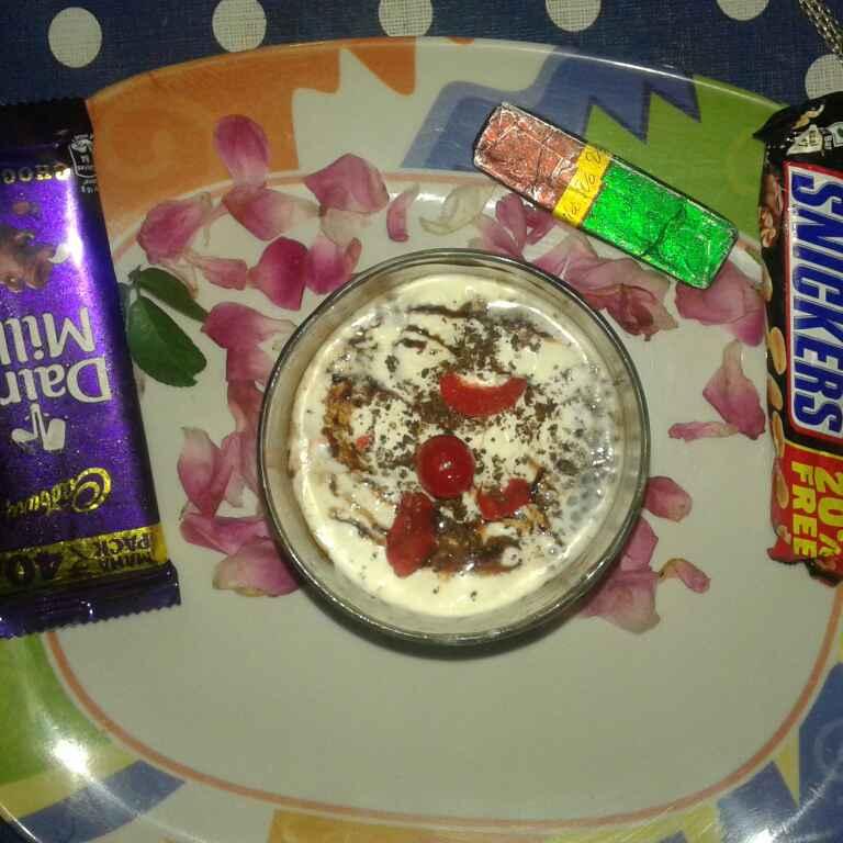 How to make Dry fruit anjeer rabadi falooda with twist