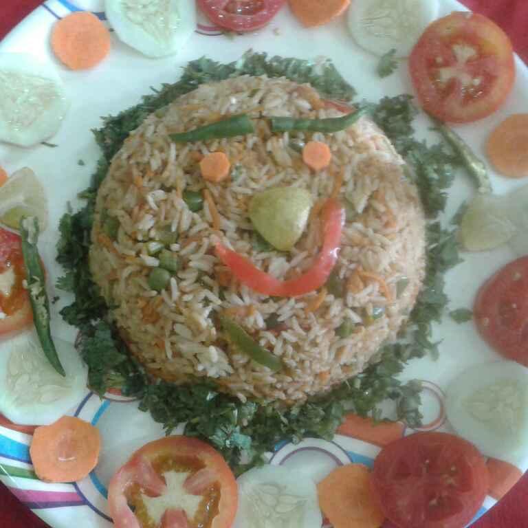 How to make बचे हुए चावल के साउथ स्टाइल मिक्स वेज फ्राइड राइस