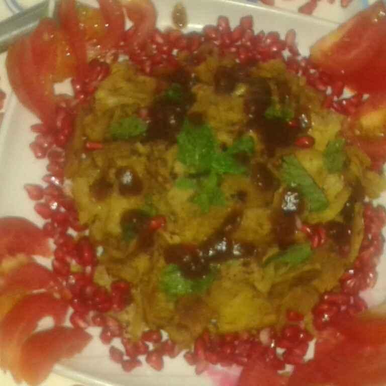 Photo of Leftover roti ki chatpati chutney ki roti ki special chat by Ekta Sharma at BetterButter