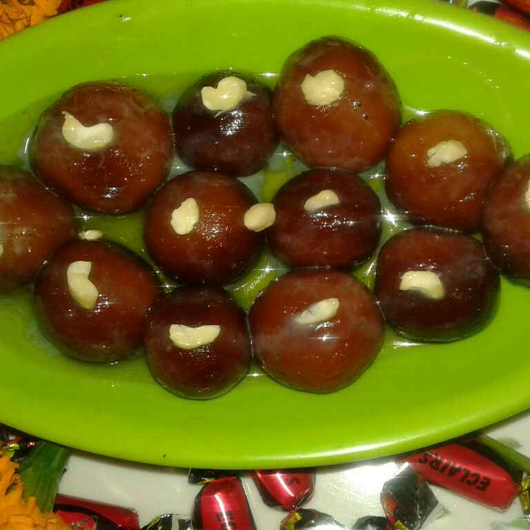 Photo of Leftover bread ke special gulab jamun by Ekta Sharma at BetterButter