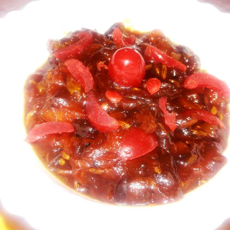 Photo of Bangali style tomato , dates ki spicy , sweet chutney by Ekta Sharma at BetterButter