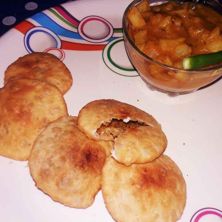 Photo of Mathura ke special khasta with aaloo ki subzi by Ekta Sharma at BetterButter