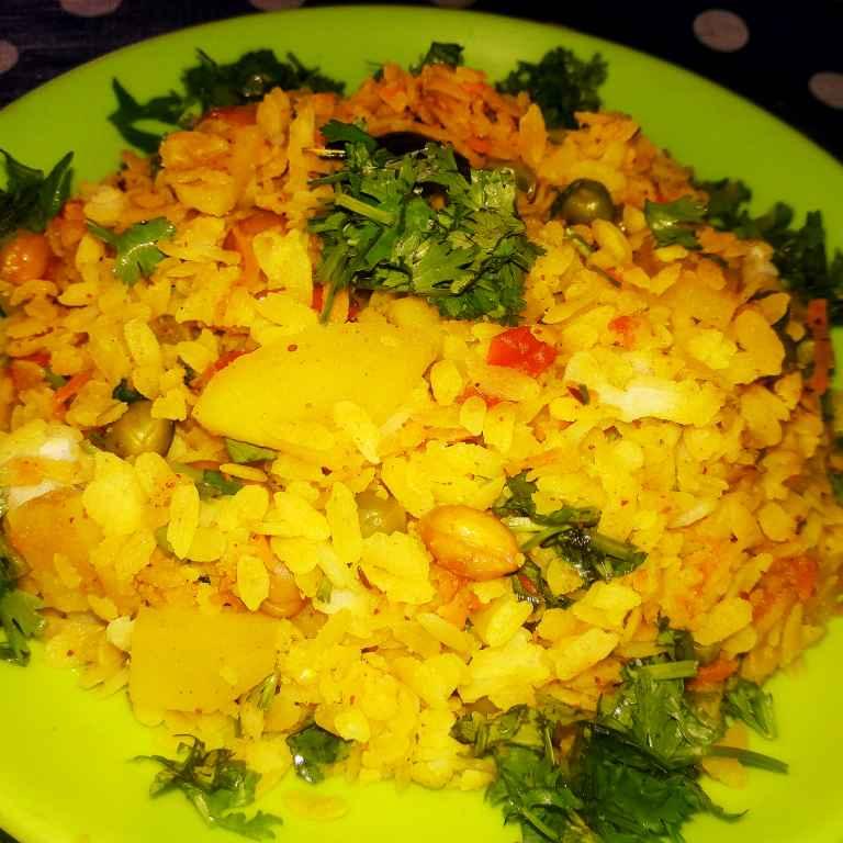 Photo of Mix veg poha by Ekta Sharma at BetterButter