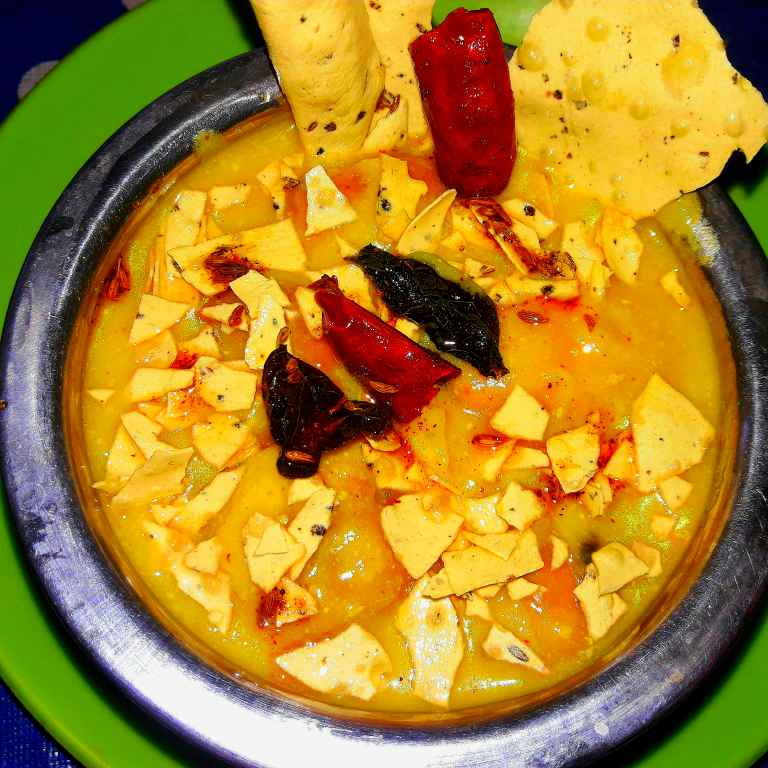 Photo of Soecial papad pakoda kadhi by Ekta Sharma at BetterButter