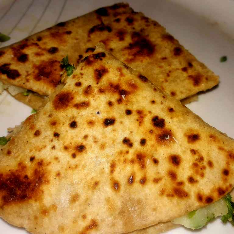 Photo of Leftover roti sandwich by Ekta Sharma at BetterButter