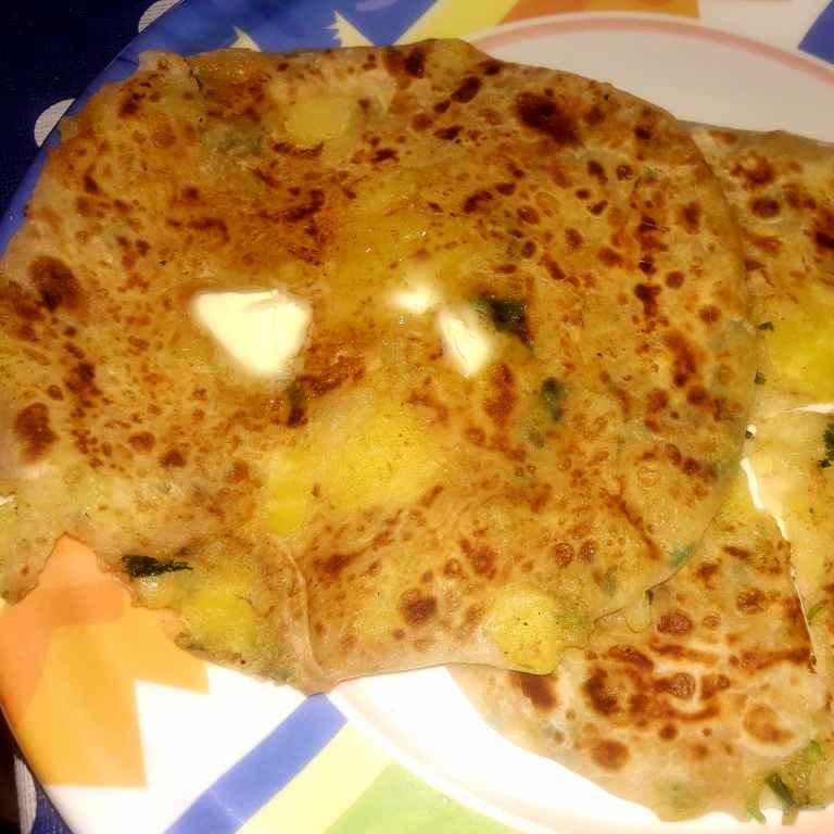 Photo of Aloo kulcha (bina yeast ke ) butter ke sath by Ekta Sharma at BetterButter