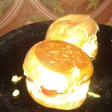 Photo of Veg aloo tikki burger by Ekta Sharma at BetterButter