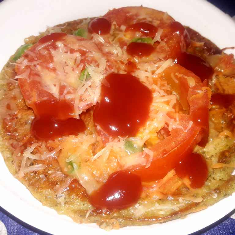 Photo of Whole moong chilla pizza by Ekta Sharma at BetterButter