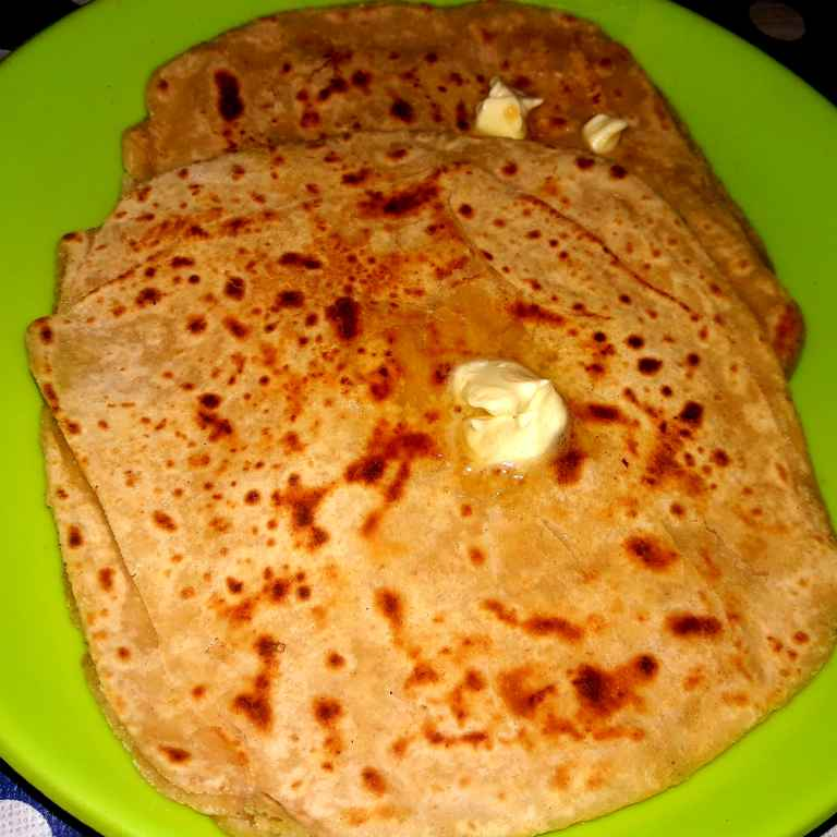 Photo of Layered paratha with butter by Ekta Sharma at BetterButter