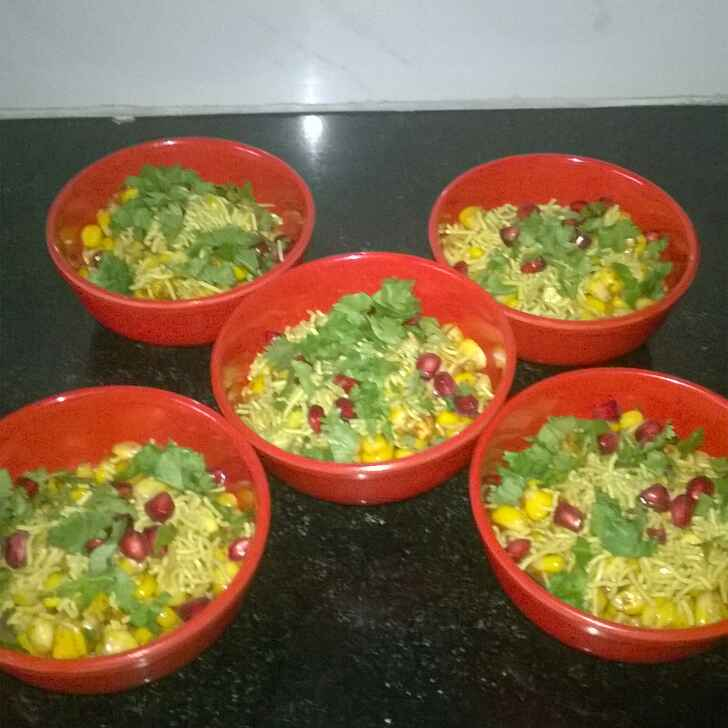 How to make Corn Bhel