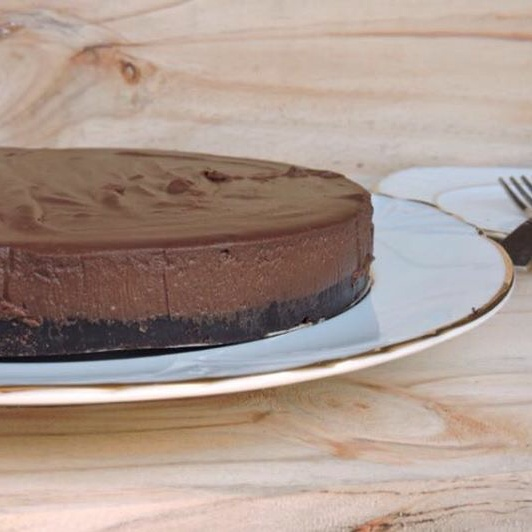 How to make No Bake Chocolate Cheesecake