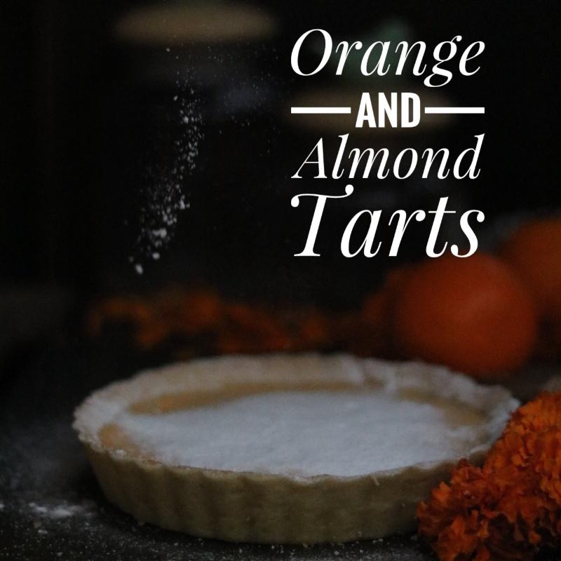 How to make Orange And Almond Tarts