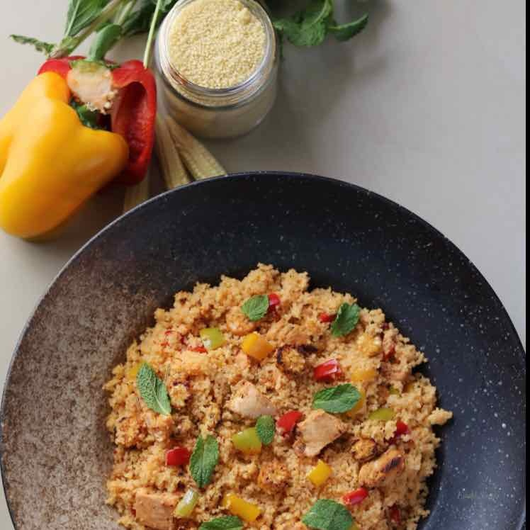 Photo of Grilled Chicken and Couscous Salad  by Evani Singh at BetterButter