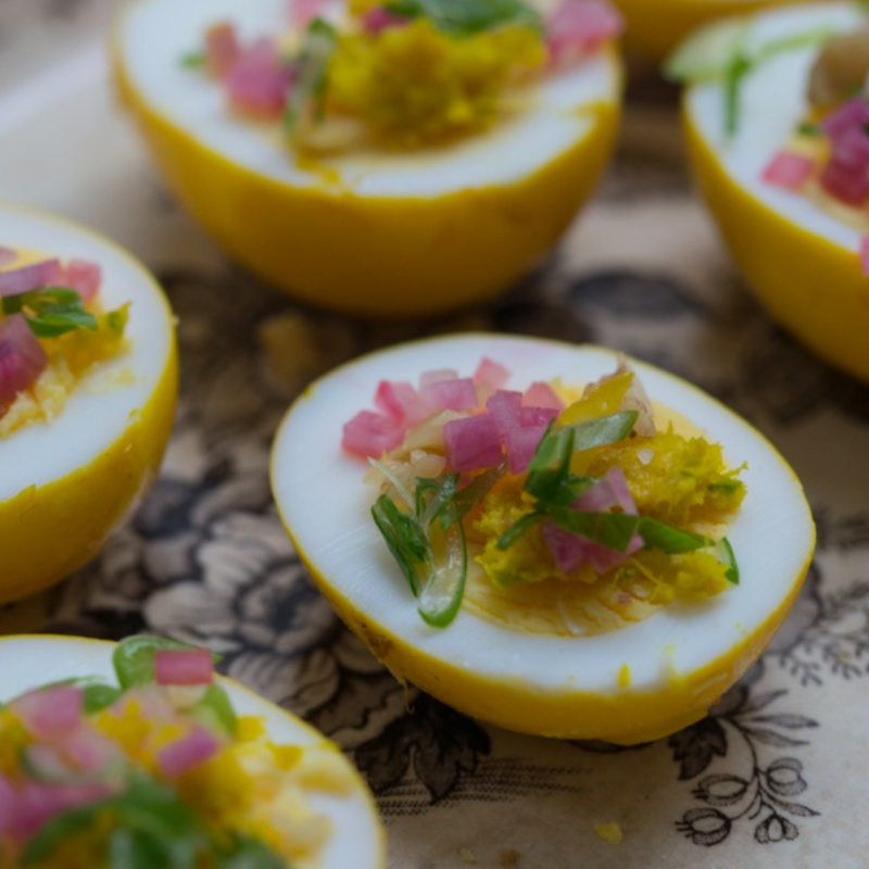 Photo of Pickled Turmeric Eggs by fahima patel at BetterButter
