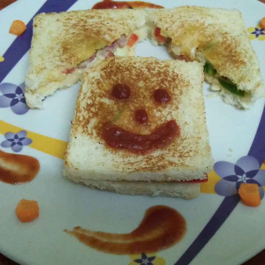 Photo of Veg Mayonnaise Sandwich.... by fairose banu at BetterButter