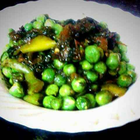 How to make Pea & Spinach Side Dish
