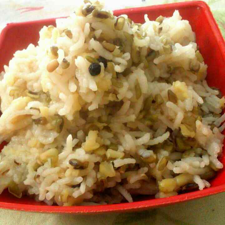 How to make Moong Dal And Rice Khichdi
