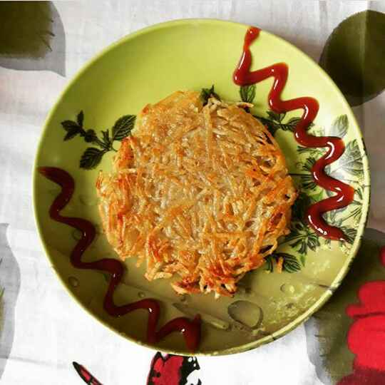 Photo of Sweet Potato Hash Brown by Farheen Dalvi at BetterButter