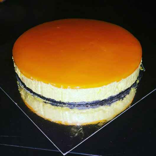 Photo of Mango Cheese Cake by Farheen Dalvi at BetterButter
