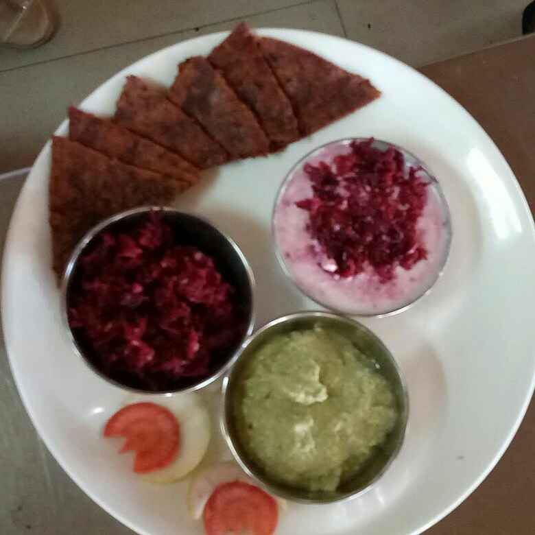 How to make Beetroot Thalipith