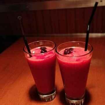 How to make Cherry Milk shake