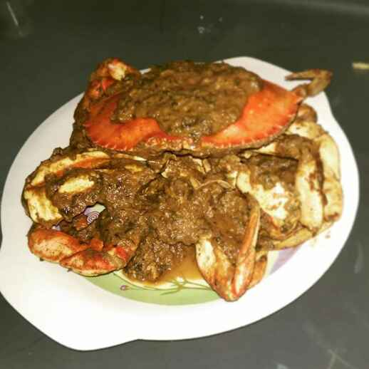How to make Crab masala
