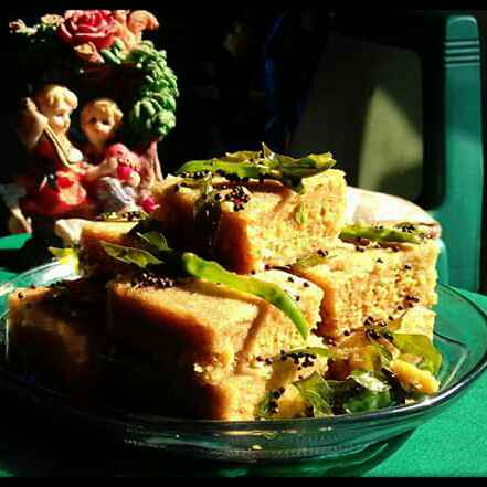 Photo of Khaman Dhokla by FarNaz AhMed at BetterButter