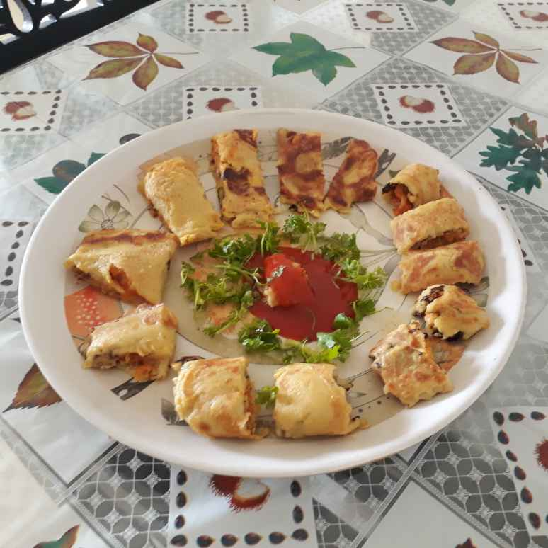 Photo of Paneer cheese  rolls by Madhu D at BetterButter