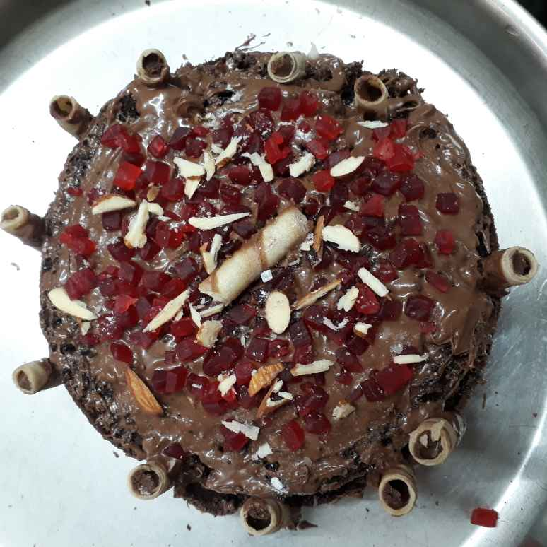 Photo of Chocolate cake without oven by Madhu D at BetterButter