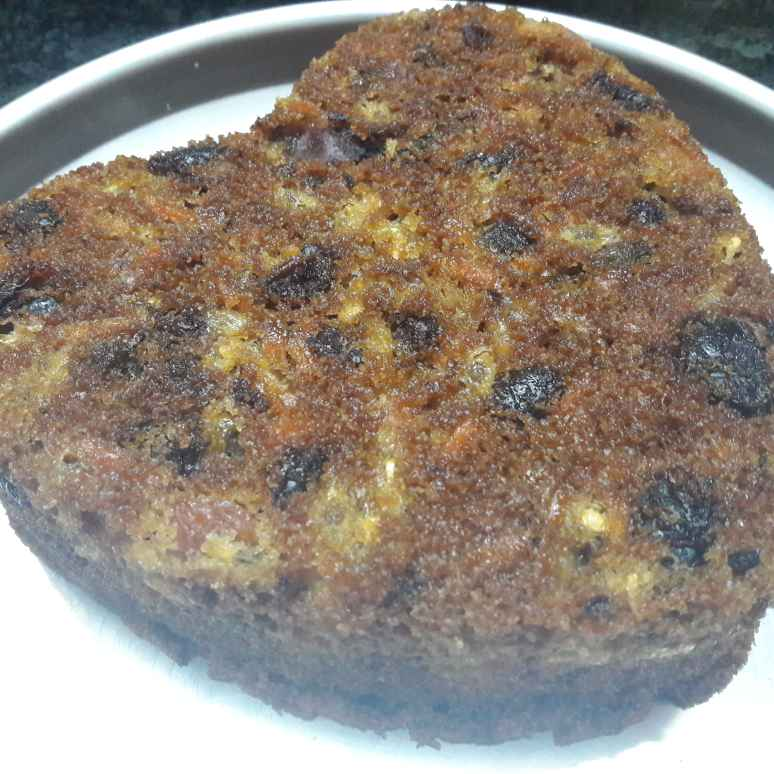 Photo of Passion fruit dates carrot cake by Fathima Beevi at BetterButter
