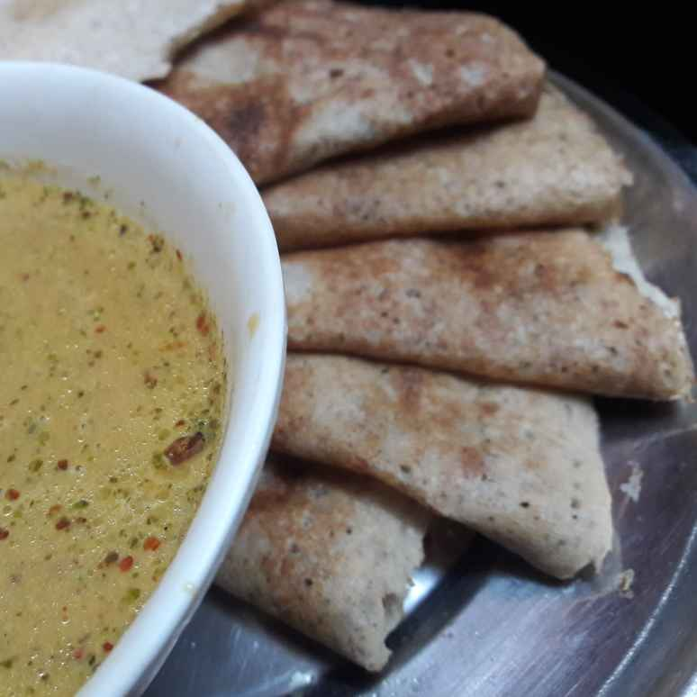 Photo of Horsegram Black urad dal dosa by Fathima Beevi at BetterButter