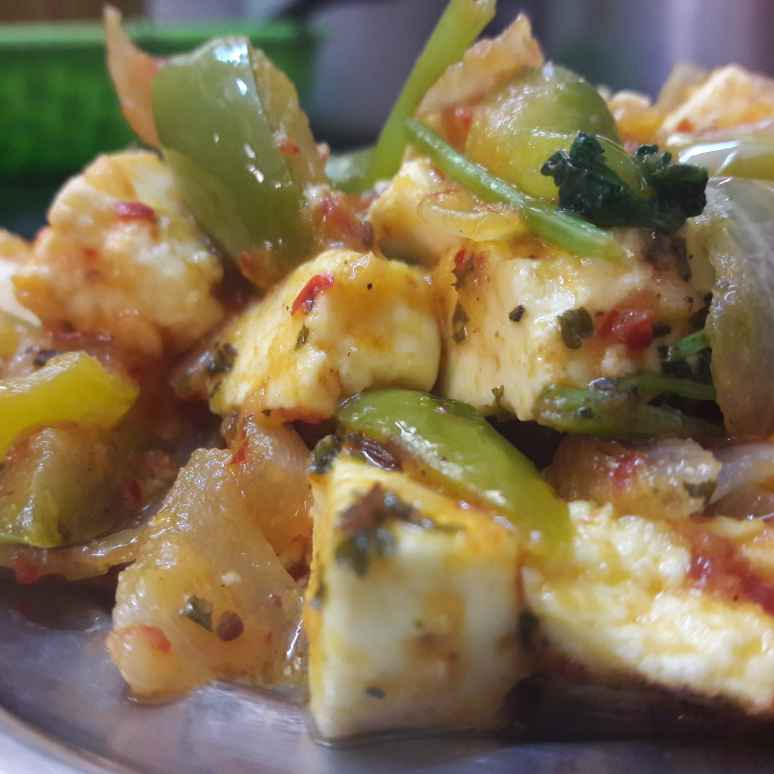Photo of Paneer capsicum roast by Fathima Beevi at BetterButter