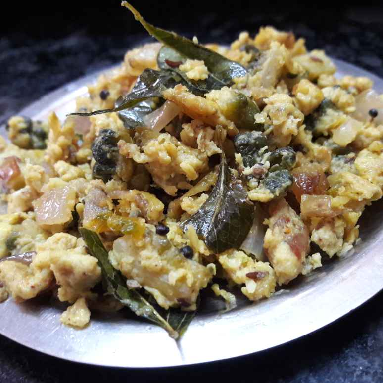 Photo of Bitter gourd egg bhurji by Fathima Beevi at BetterButter