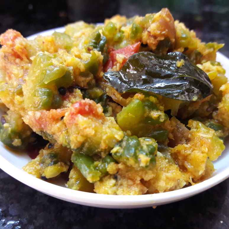 Photo of Bitter gourd tomato stir fry by Fathima Beevi at BetterButter