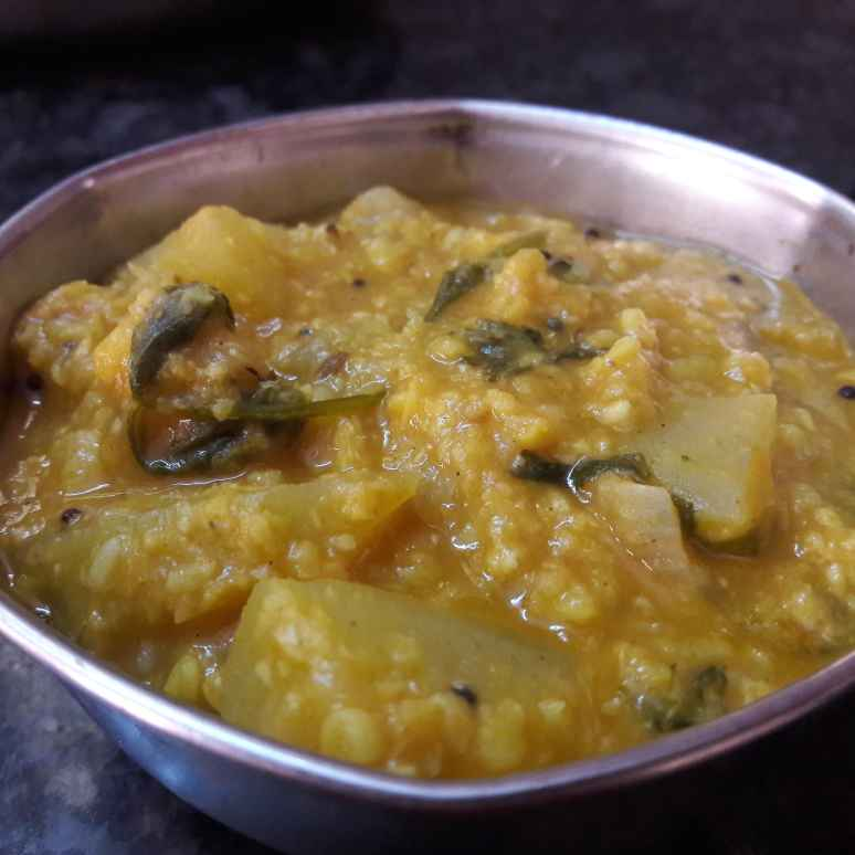 Photo of Bottle gourd moong dal kootu by Fathima Beevi at BetterButter