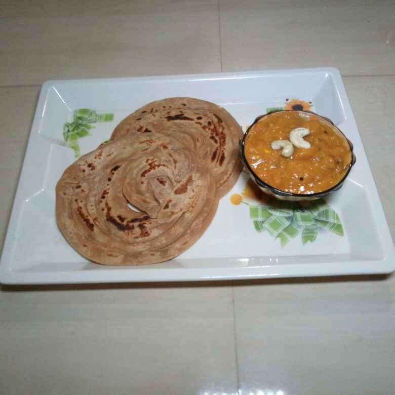 Photo of Coconut Wheat Parota With Kerala style Topioca Curry by Fathima Sujitha at BetterButter