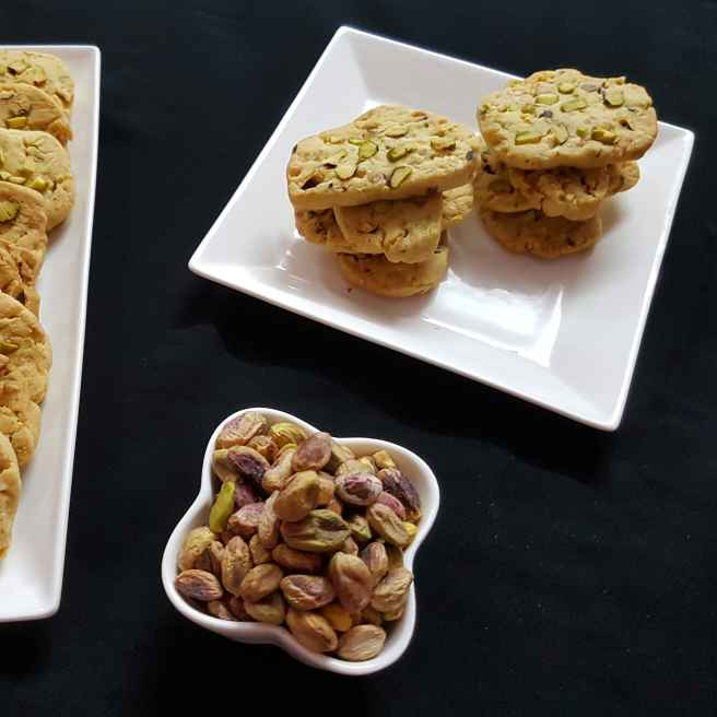 Photo of Pista Biscuits by fathoom hameed at BetterButter