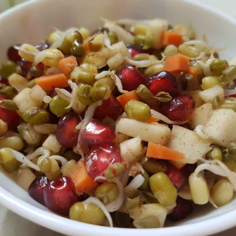 Photo of Greengram sprouts salad by fathoom hameed at BetterButter