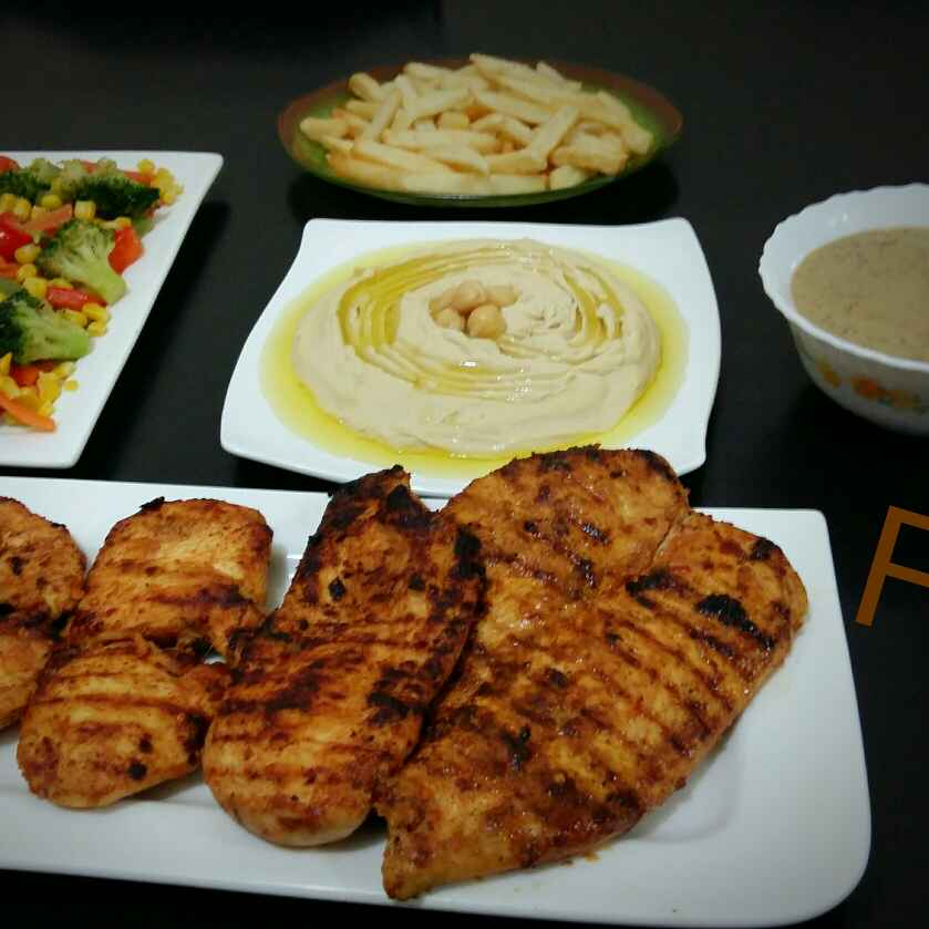 How to make Grilled Chicken Steak with Pepper Sauce